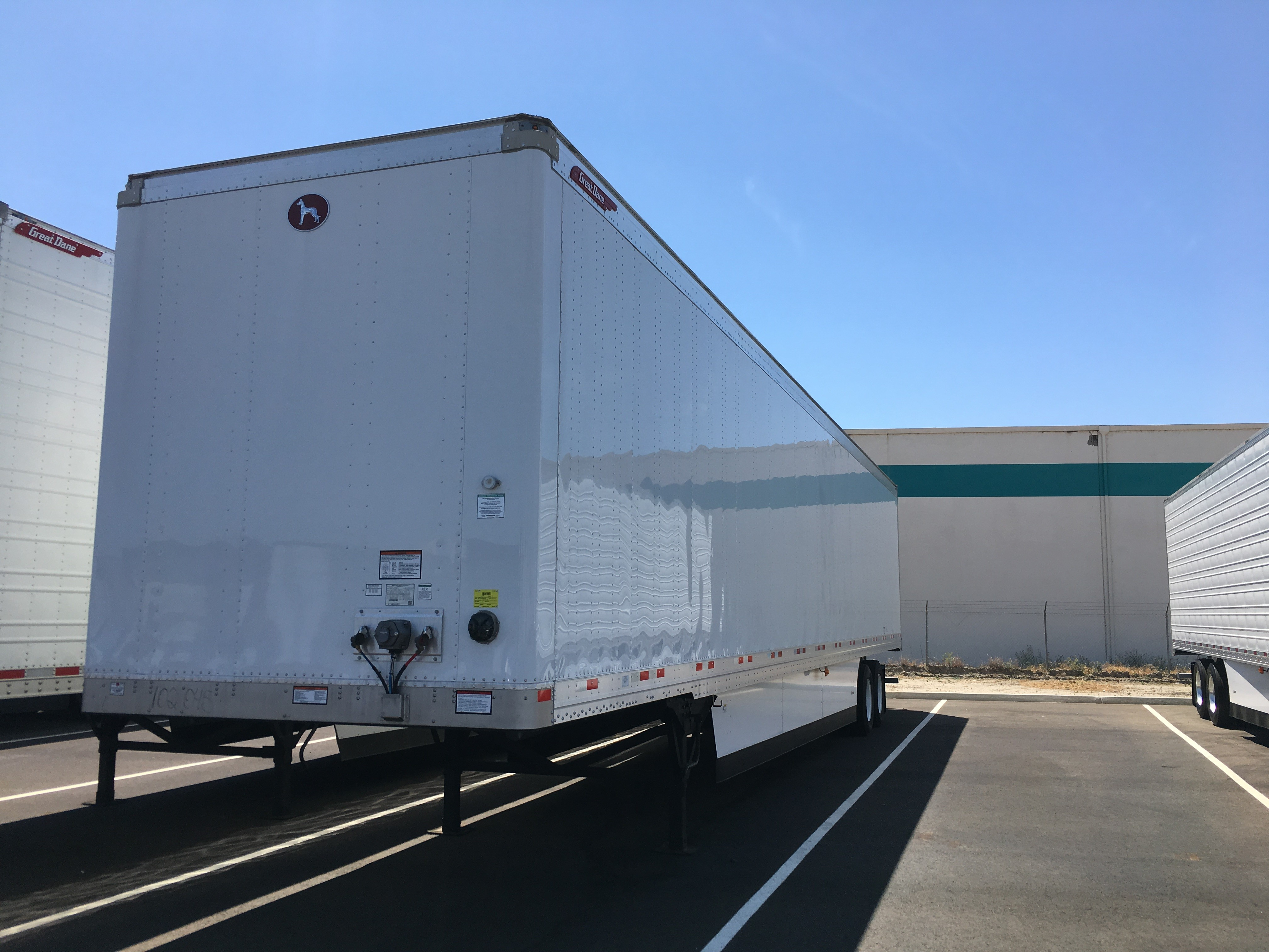 Our Featured Trailer Is A 2007 Great Dane 53 X 102 Reefer Trailer